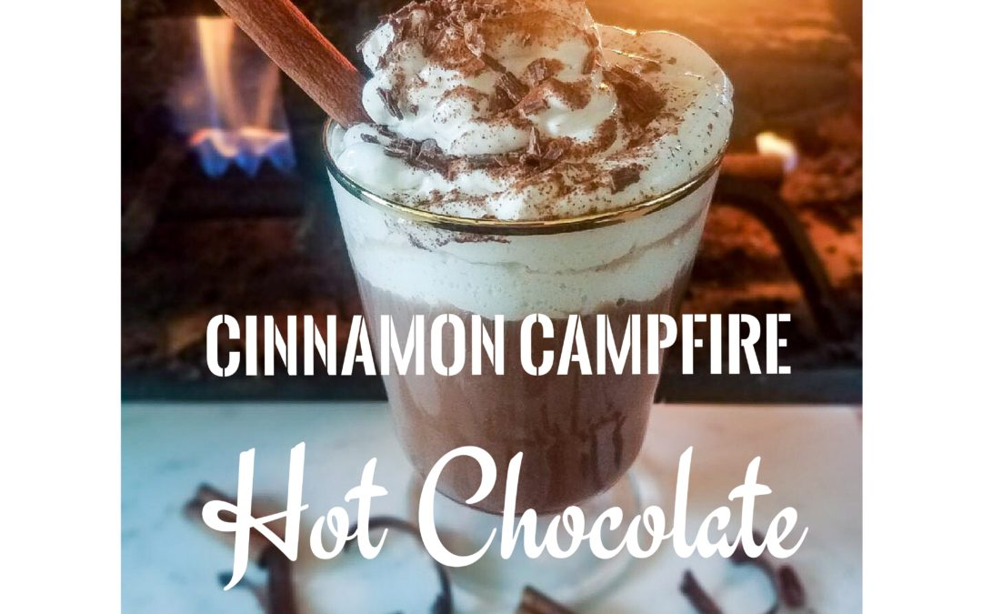 Favorite Fall Cocktail- Campfire Cinnamon Hot Chocolate