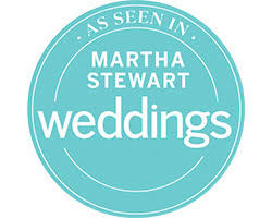 Check us out on Martha Stewart Weddings!
